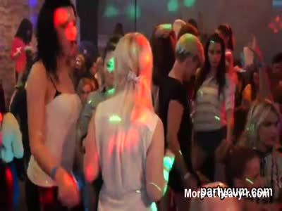 Sexy teens get completely insane and naked at hardcore party
