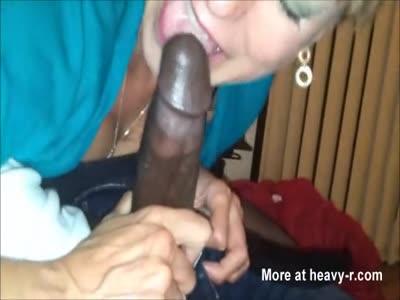 Grandma BBC Blowjob