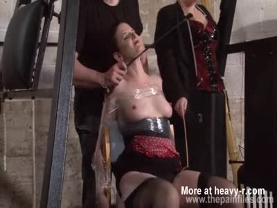 Slave Bound In Foil And Double Dominated