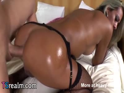 Busty Tranny Karol Kovalick Gets Assfucked