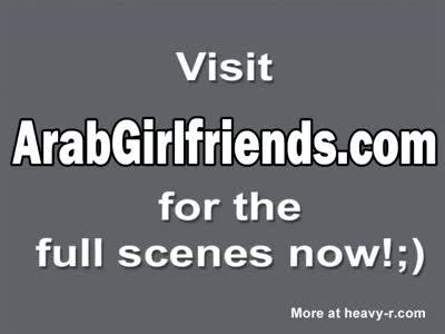 Delightful Arab Girlfriend Sucks Hard Dick Like Pro