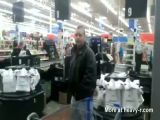 Public Masturbator Got Caught in Walmart
