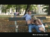Blowjob In Public Park