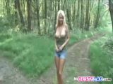 Flashing Tits In The Woods