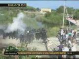 Albanian police riot