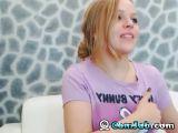 Hot Blonde Teen Plays her Wet Cunt
