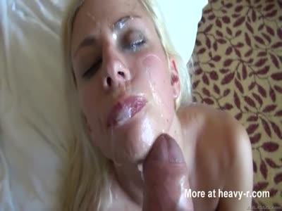Big Facial Cumshot For Nasty Teen