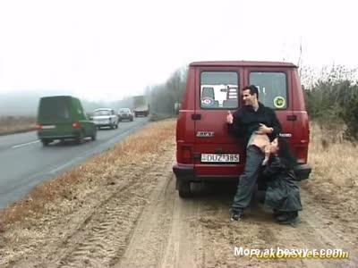Sex Next To Highway