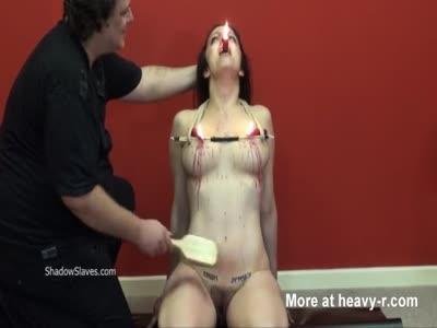 Amateur Tits Torturing