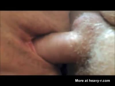 Horny Mature Couple Close Up Creampie