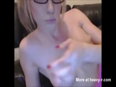 Horny trannies self- facial