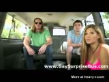 Straight guy lured into gay van by girl