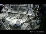 Brutal Car Accident In Brazil