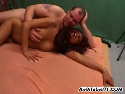 Amateur asian milf sucking and fucking