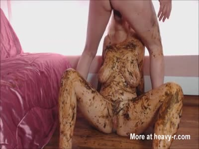 Scat Covered Pierced Pussy MILF