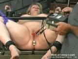 Fat Slave Girl Crying In Pain