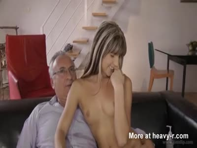 Little babe anorexic skinny girl fucked for money