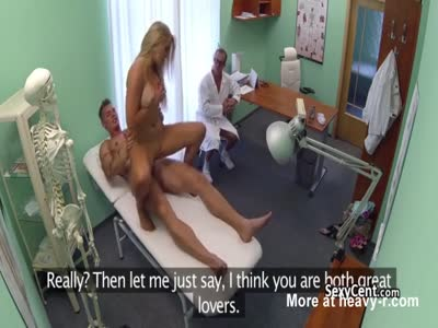 Couple Fucking In Front Of Doctor