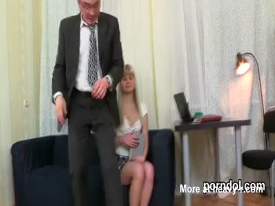 Erotic bookworm was seduced and plowed by her senior teacher
