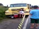 De cara com o caminhão