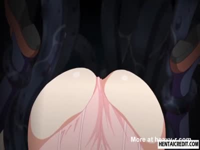 Caught hentai girl gets fucked