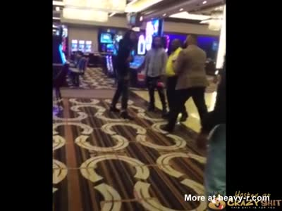 Casino Security Knocked The Fuck Out
