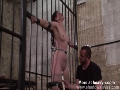 Whipping Tied Slave