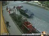Bizarre accident