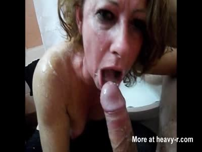 And milf gagging free mature
