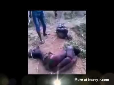 3 BUTCHERED MEN FROM: DICK +HEAD &TORSO...