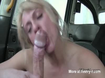 Old Blonde Sucks Huge Boner