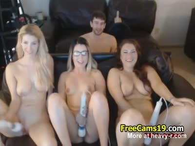 Camgirls Toy Party
