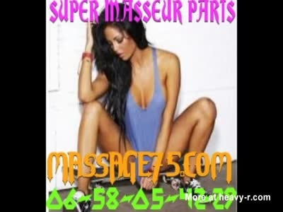 Superb naturist masseuse in Paris
