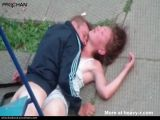 Raping Unconscious Girl In Public