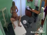 Doctor Fucks Blonde Whore In Panties
