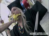 Chick that just graduted high school gets her tawt pumped