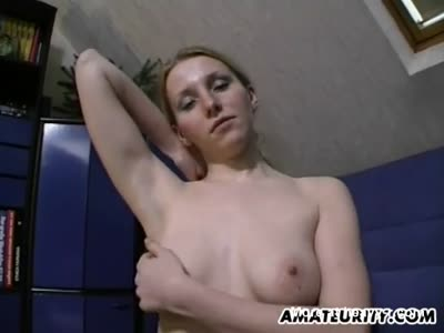 Toying Girlfriend For A Handjob