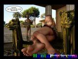 Muscular gay hunks hot group gangbanged orgy