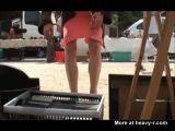 Hidden Cam Films Woman Wearing No Underwear