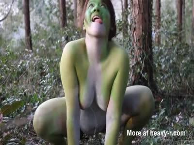 Japanese Frog Lady