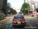 Bus vs Motorcycle