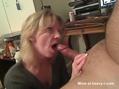 Elderly Lady Giving Oral Sex