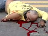 Man Dying In The Street After Bad Accident