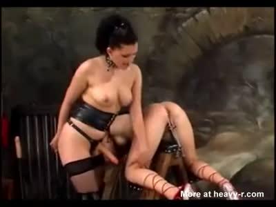 Russian Lesbian BDSM