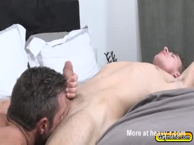 Alex loves JJs big cock and good looks