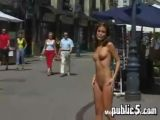 Skinny Girl Naked In Public