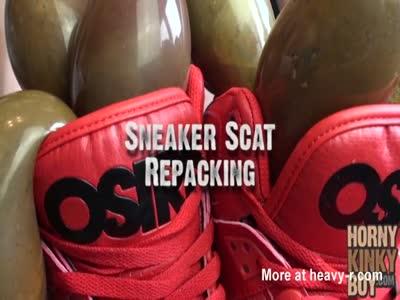 Sneaker Scat Repacking