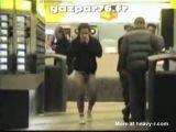 Drunk Tourist Forgot His Pants