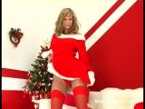 Christmas striptease