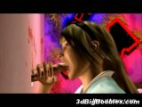 3D Girl Gloryhole